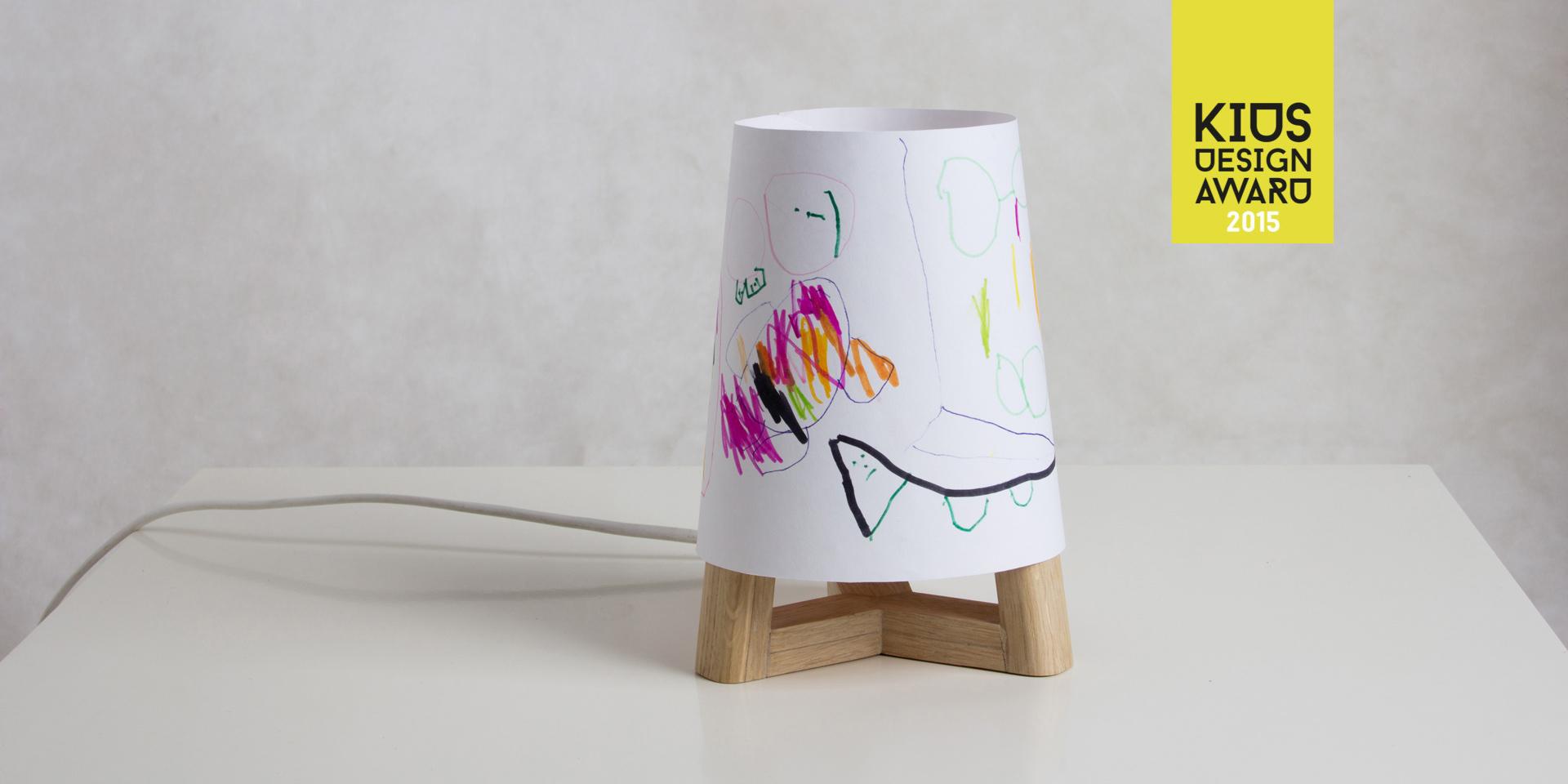 individualizovatelná lampička nejen pro děti