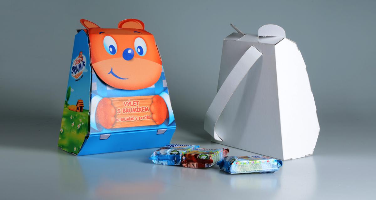 batůžek - multipack na dětskou svačinku